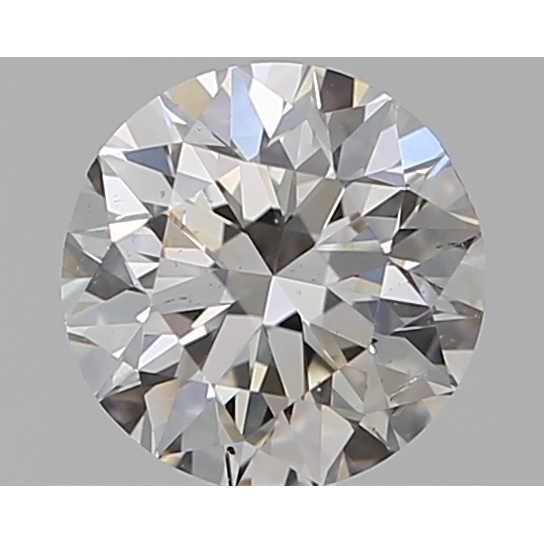 0.50 Carat Round Loose Diamond, I, SI1, Excellent, GIA Certified