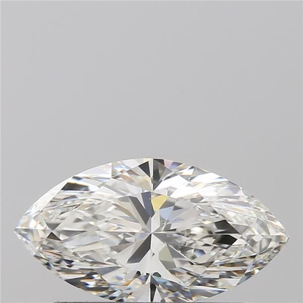 0.57 Carat Marquise Loose Diamond, H, VVS2, Ideal, GIA Certified