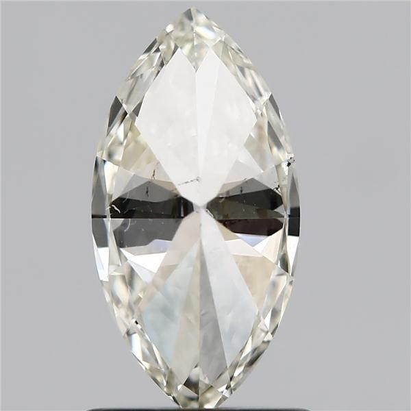 1.00 Carat Marquise Loose Diamond, L, SI1, Ideal, GIA Certified