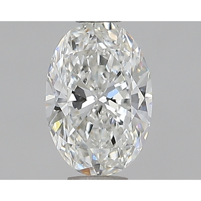0.59 Carat Oval Loose Diamond, G, VS2, Super Ideal, GIA Certified