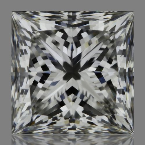 0.83 Carat Princess Loose Diamond, F, SI1, Super Ideal, GIA Certified
