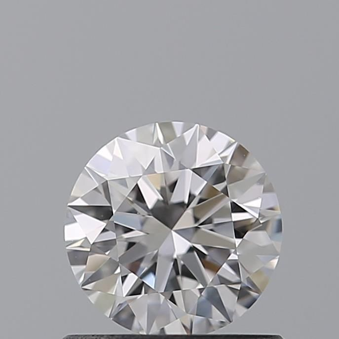 0.64 Carat Round Loose Diamond, D, VVS1, Super Ideal, GIA Certified