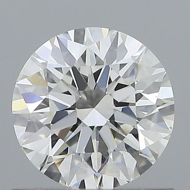 0.81 Carat Round Loose Diamond, I, VVS1, Super Ideal, GIA Certified