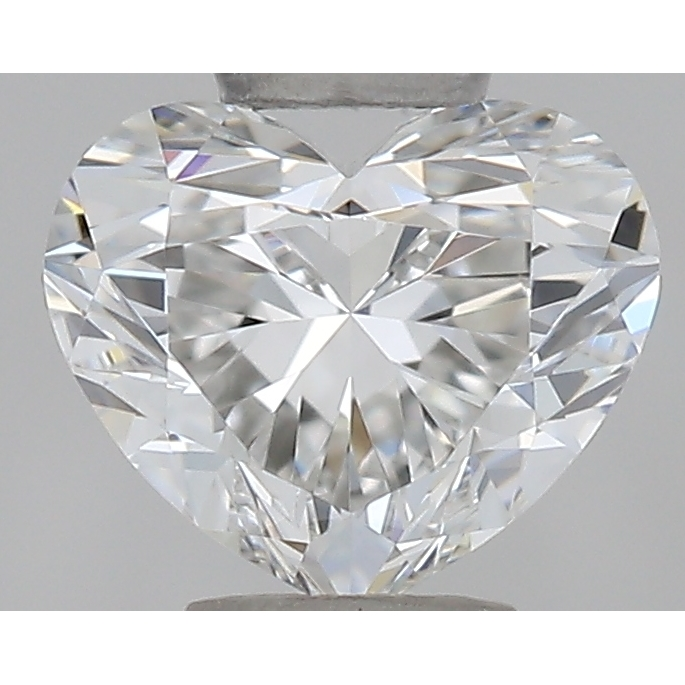0.33 Carat Heart Loose Diamond, F, IF, Super Ideal, GIA Certified