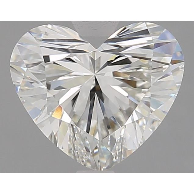 2.01 Carat Heart Loose Diamond, H, VVS1, Super Ideal, GIA Certified
