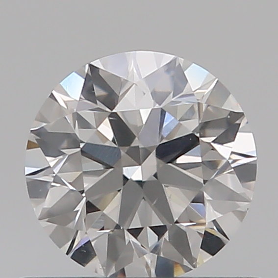 0.52 Carat Round Loose Diamond, E, SI1, Super Ideal, GIA Certified