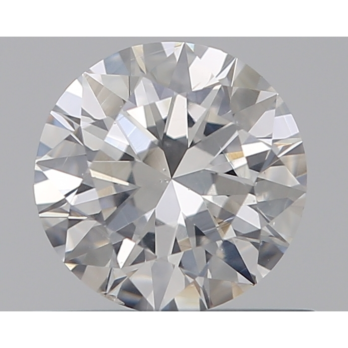 0.50 Carat Round Loose Diamond, E, SI1, Super Ideal, GIA Certified