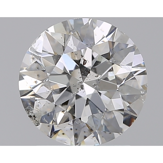 1.50 Carat Round Loose Diamond, F, I1, Super Ideal, GIA Certified