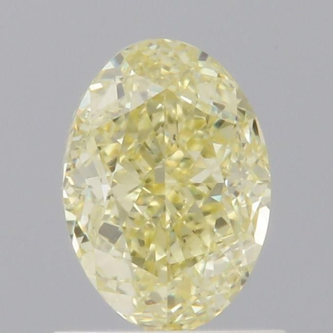 1.00 Carat Oval Loose Diamond, Fancy Yellow, VS2, Excellent, GIA Certified