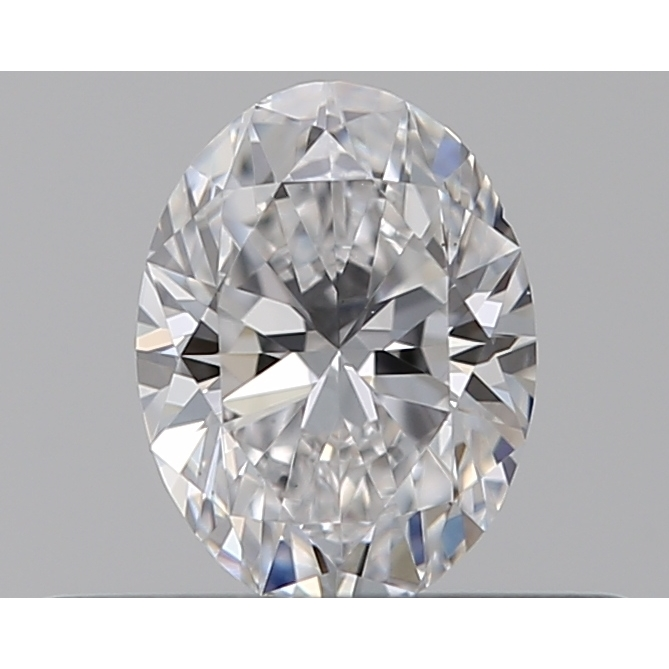 0.30 Carat Oval Loose Diamond, D, VS1, Ideal, GIA Certified