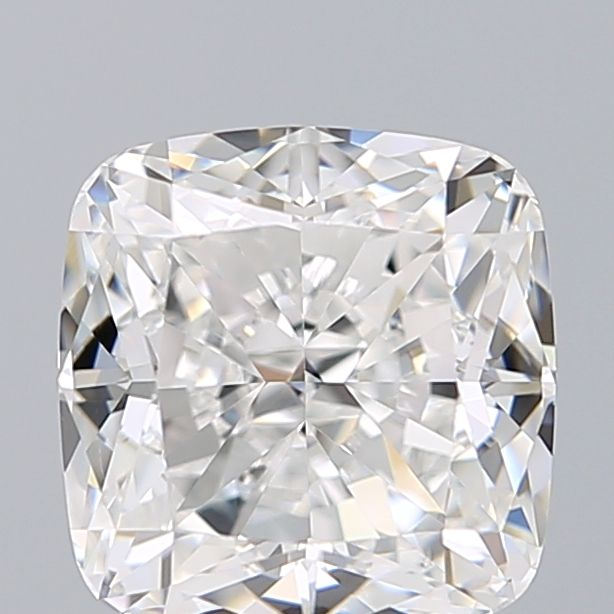 1.30 Carat Cushion Loose Diamond, E, VS2, Ideal, GIA Certified