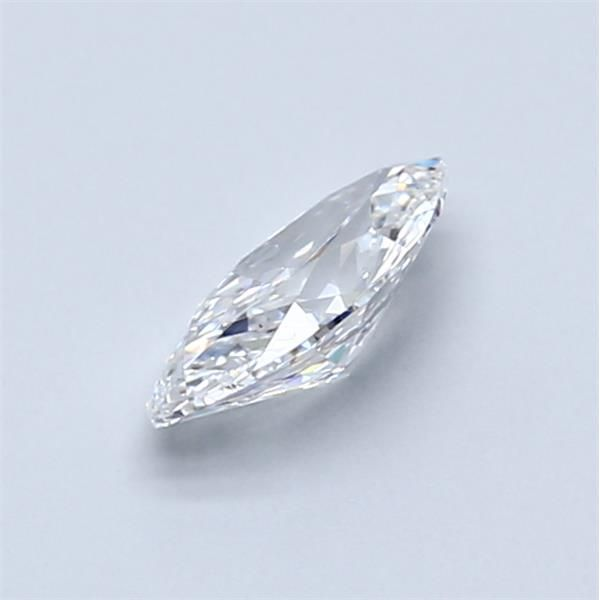0.53 Carat Marquise Loose Diamond, D, VS1, Ideal, GIA Certified