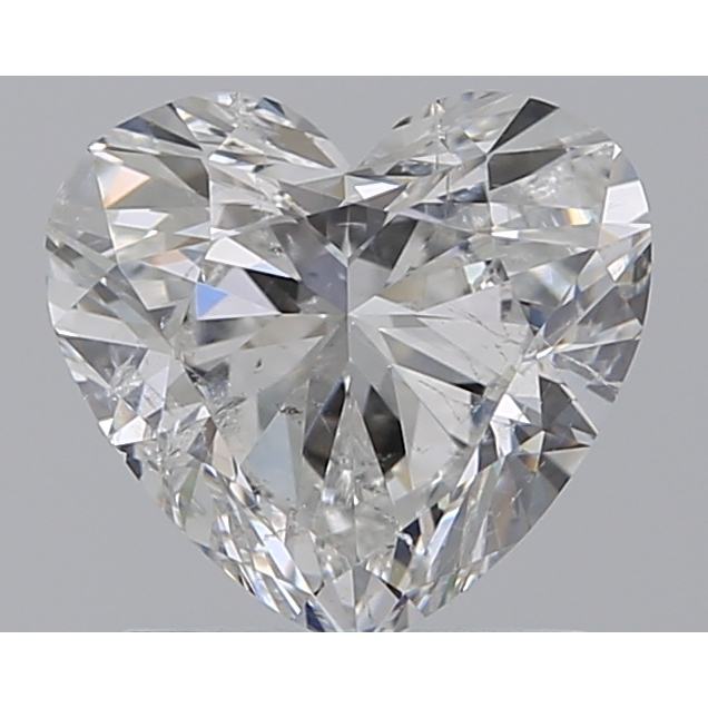 1.20 Carat Heart Loose Diamond, G, I1, Super Ideal, GIA Certified
