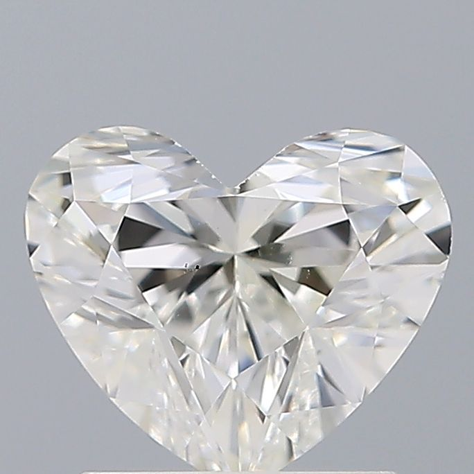 1.15 Carat Heart Loose Diamond, H, VS1, Ideal, GIA Certified