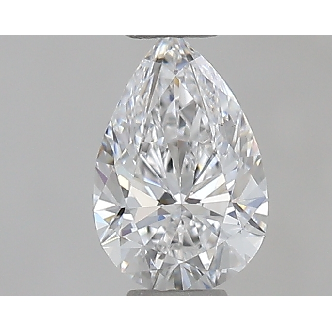 0.31 Carat Pear Loose Diamond, D, VS1, Super Ideal, GIA Certified | Thumbnail