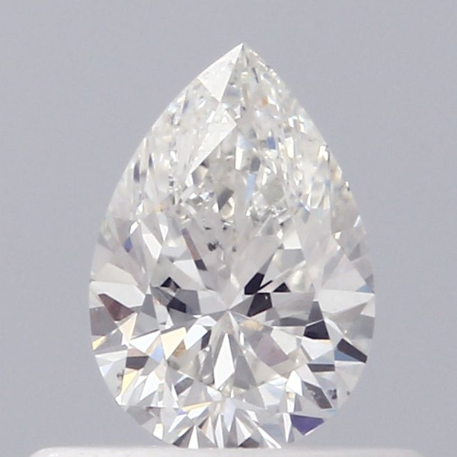 0.39 Carat Pear Loose Diamond, H, SI1, Excellent, GIA Certified