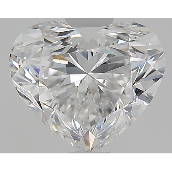 1.00 Carat Heart Loose Diamond, D, SI1, Ideal, GIA Certified