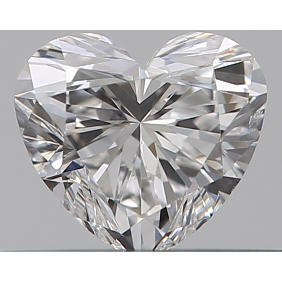 0.30 Carat Heart Loose Diamond, E, VS2, Super Ideal, GIA Certified