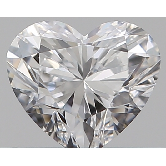0.30 Carat Heart Loose Diamond, D, IF, Super Ideal, GIA Certified