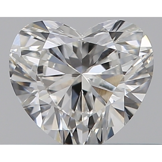 0.31 Carat Heart Loose Diamond, H, VS2, Super Ideal, GIA Certified