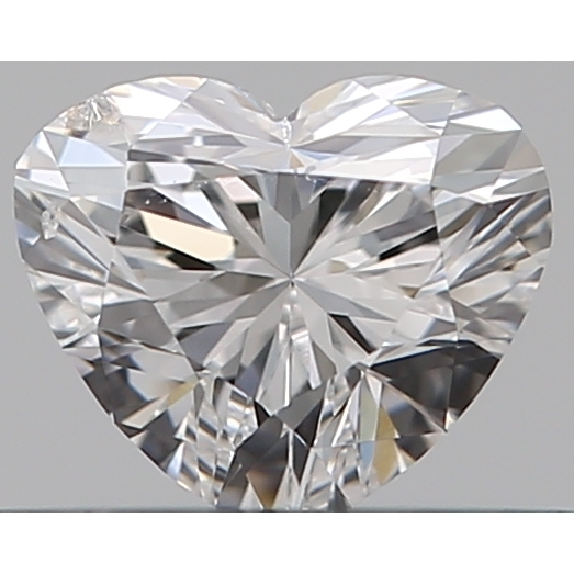 0.30 Carat Heart Loose Diamond, D, SI2, Super Ideal, GIA Certified