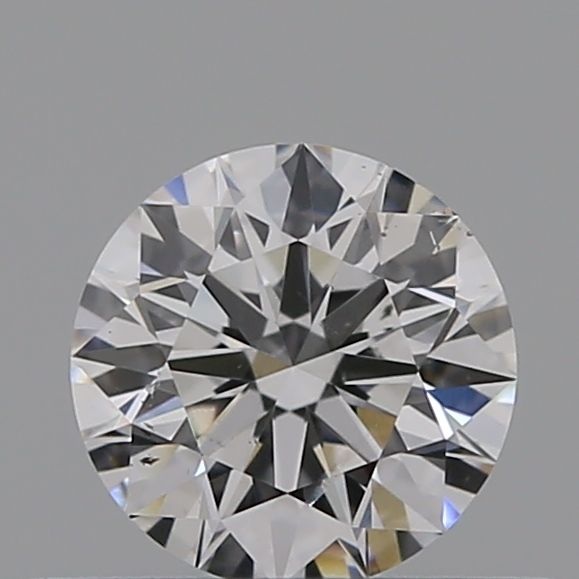 0.36 Carat Round Loose Diamond, D, SI2, Super Ideal, GIA Certified