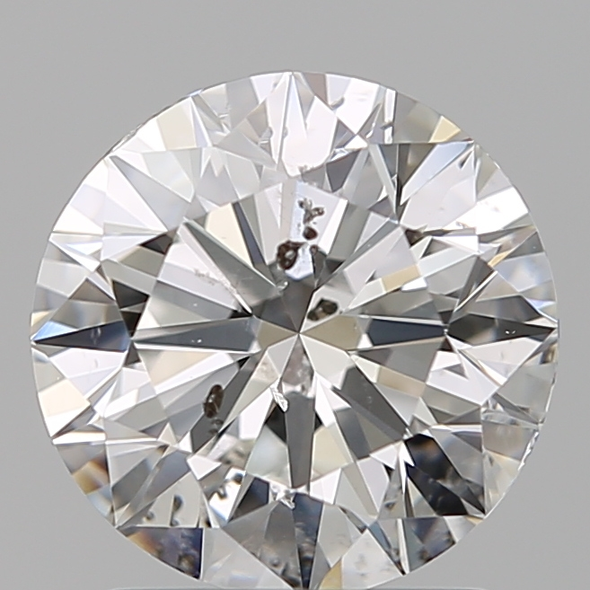 1.50 Carat Round Loose Diamond, F, SI2, Super Ideal, GIA Certified