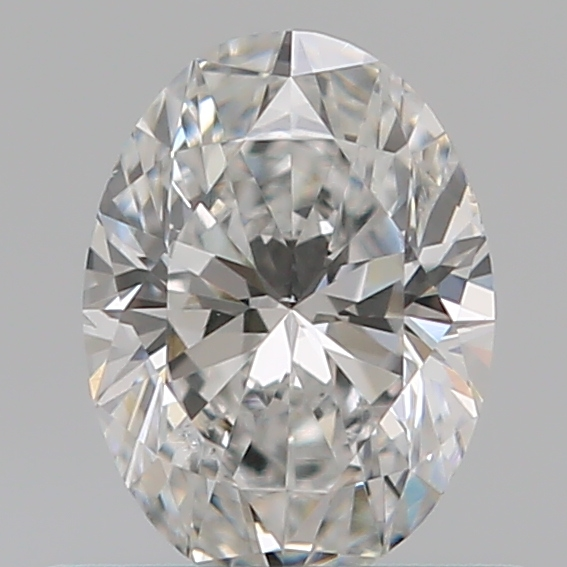 0.50 Carat Oval Loose Diamond, E, SI1, Super Ideal, GIA Certified