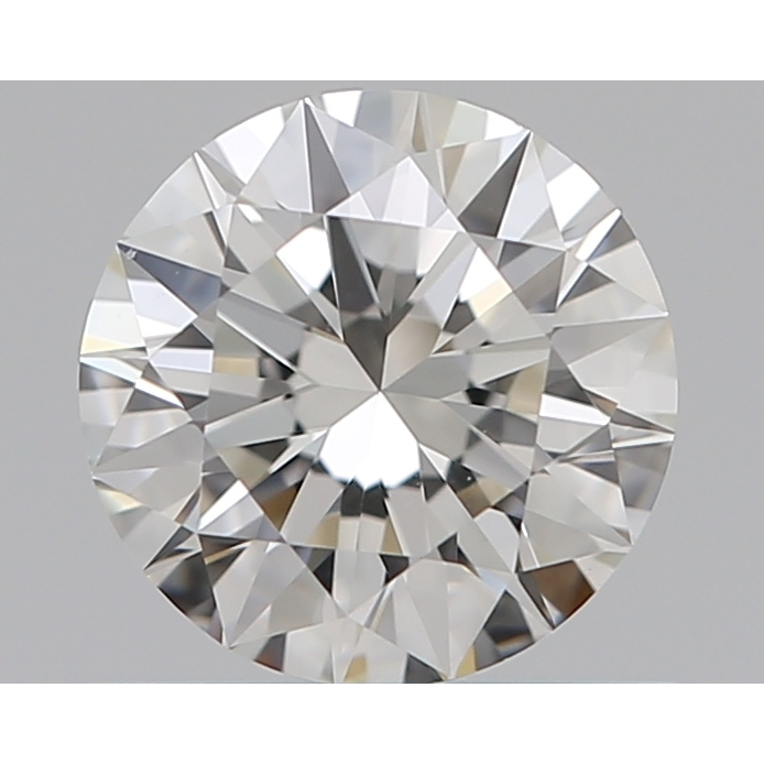 0.51 Carat Round Loose Diamond, I, VS1, Super Ideal, GIA Certified