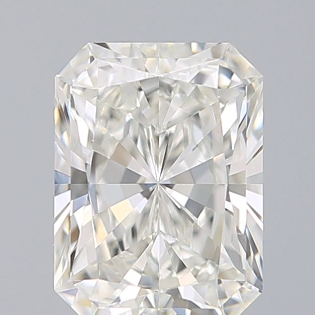 1.01 Carat Radiant Loose Diamond, H, VS2, Ideal, GIA Certified | Thumbnail