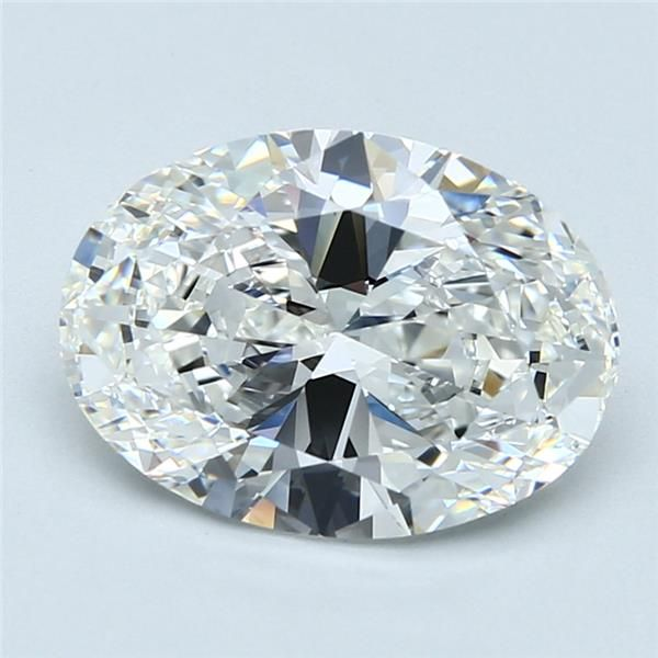3.01 Carat Oval Loose Diamond, F, VVS1, Super Ideal, GIA Certified