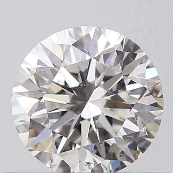 0.40 Carat Round Loose Diamond, F, SI1, Excellent, GIA Certified