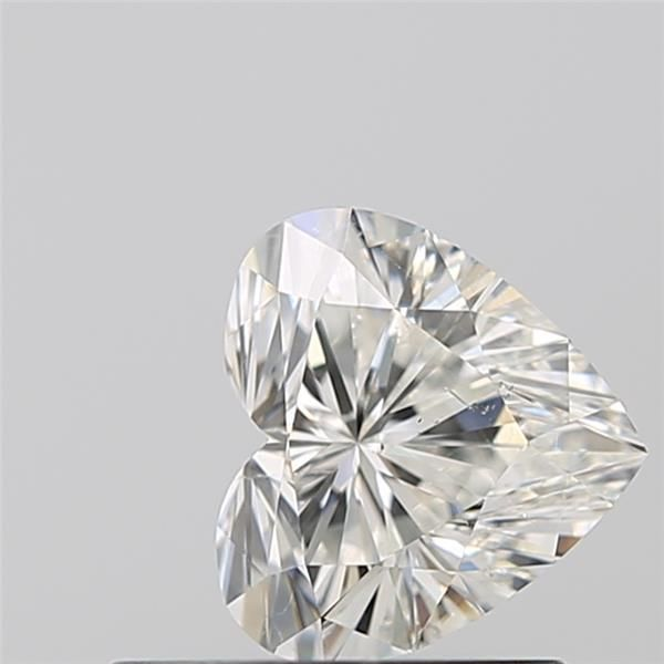 0.55 Carat Heart Loose Diamond, H, SI1, Super Ideal, GIA Certified