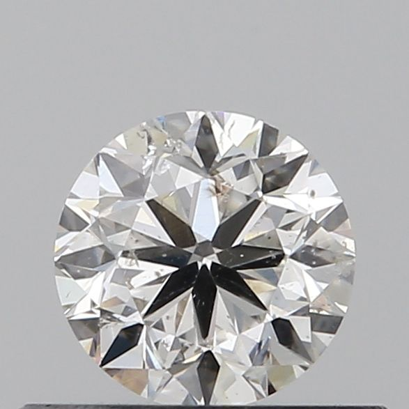 0.40 Carat Round Loose Diamond, F, I1, Excellent, GIA Certified