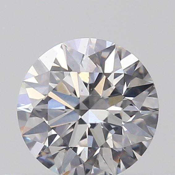 0.31 Carat Round Loose Diamond, F, SI1, Super Ideal, GIA Certified