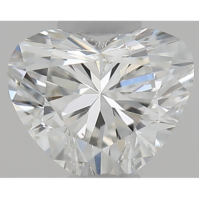 0.31 Carat Heart Loose Diamond, G, SI1, Ideal, GIA Certified