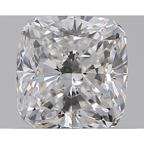 0.50 Carat Cushion Loose Diamond, D, SI1, Excellent, GIA Certified