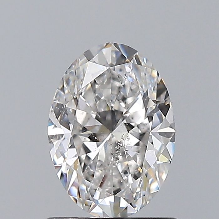 0.92 Carat Oval Loose Diamond, E, SI2, Ideal, GIA Certified
