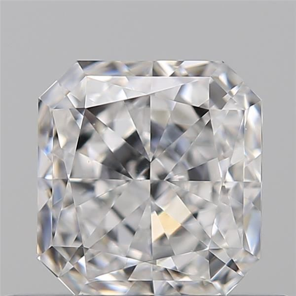 0.50 Carat Radiant Loose Diamond, D, VS1, Excellent, GIA Certified