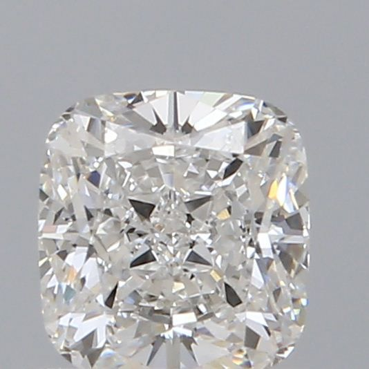 0.53 Carat Cushion Loose Diamond, E, VS1, Ideal, GIA Certified