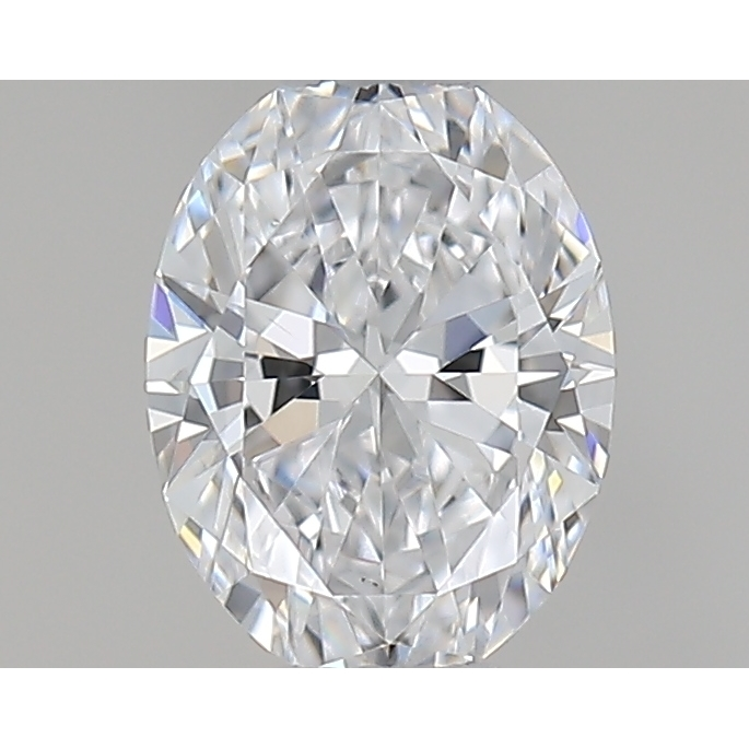 0.33 Carat Oval Loose Diamond, D, VS2, Super Ideal, GIA Certified | Thumbnail