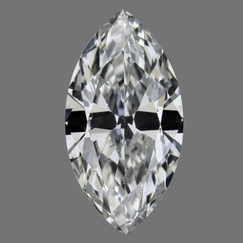 0.51 Carat Marquise Loose Diamond, E, SI1, Ideal, GIA Certified