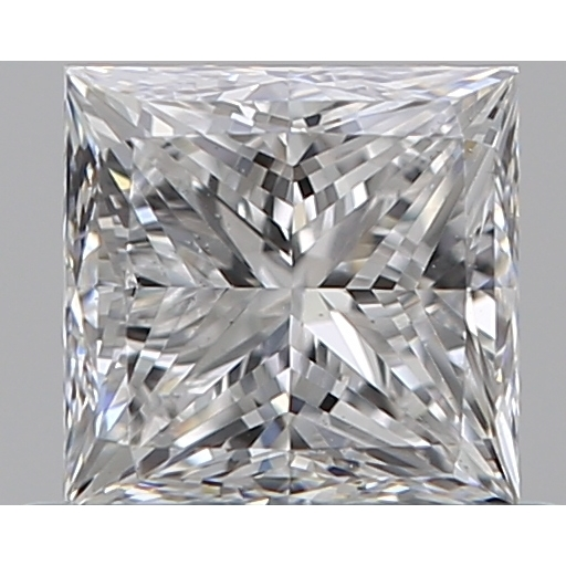 0.60 Carat Princess Loose Diamond, D, VS2, Super Ideal, GIA Certified
