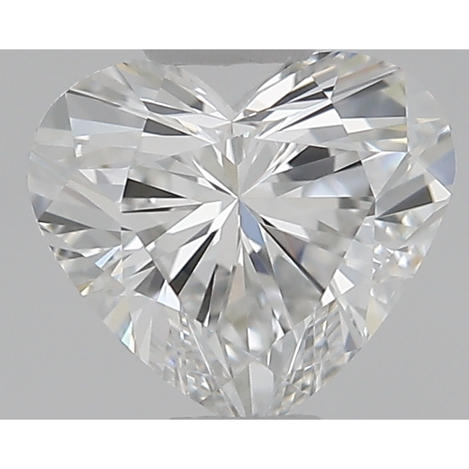 0.51 Carat Heart Loose Diamond, E, SI1, Super Ideal, GIA Certified