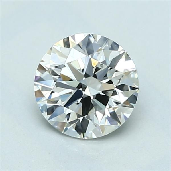 1.01 Carat Round Loose Diamond, I, VS2, Super Ideal, GIA Certified
