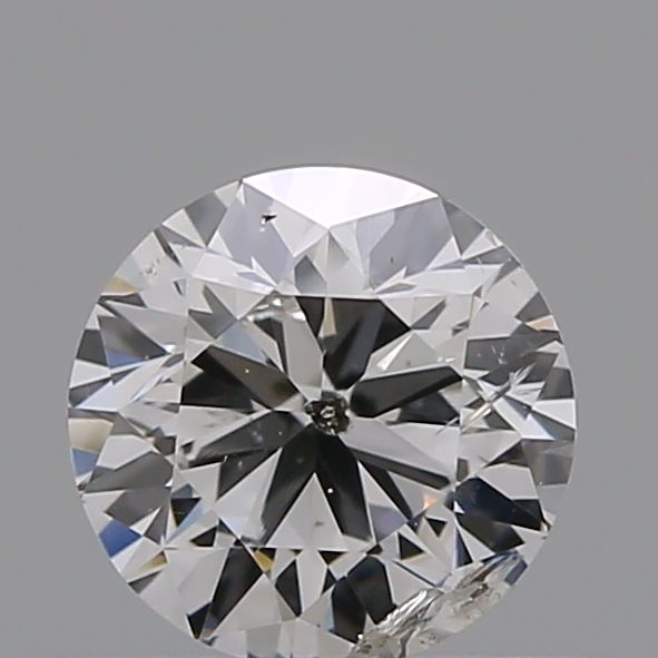 0.40 Carat Round Loose Diamond, E, I2, Very Good, GIA Certified