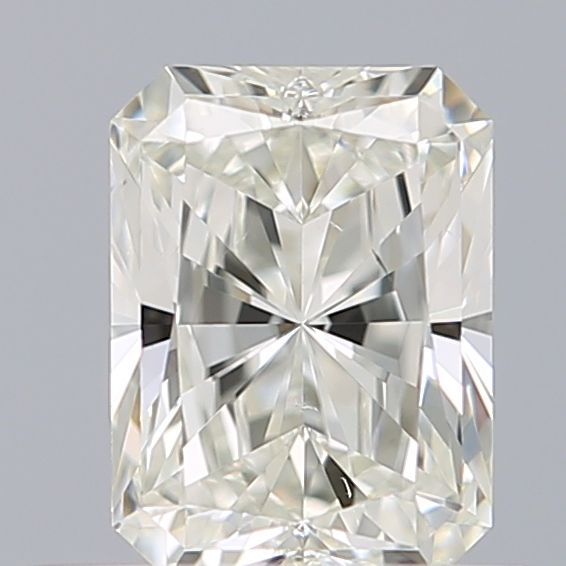 0.50 Carat Radiant Loose Diamond, I, VS2, Super Ideal, GIA Certified
