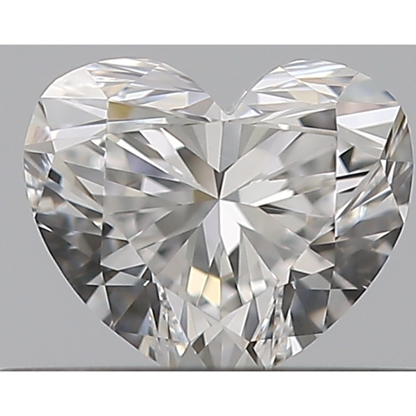 0.31 Carat Heart Loose Diamond, E, IF, Super Ideal, GIA Certified | Thumbnail