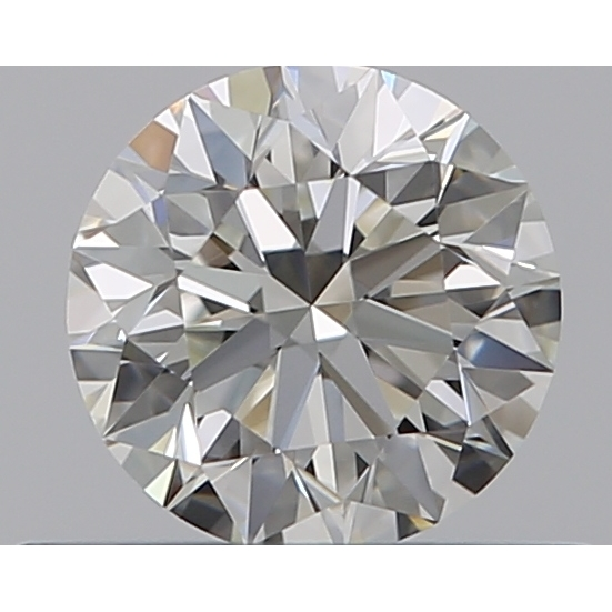 0.40 Carat Round Loose Diamond, I, VVS1, Super Ideal, GIA Certified