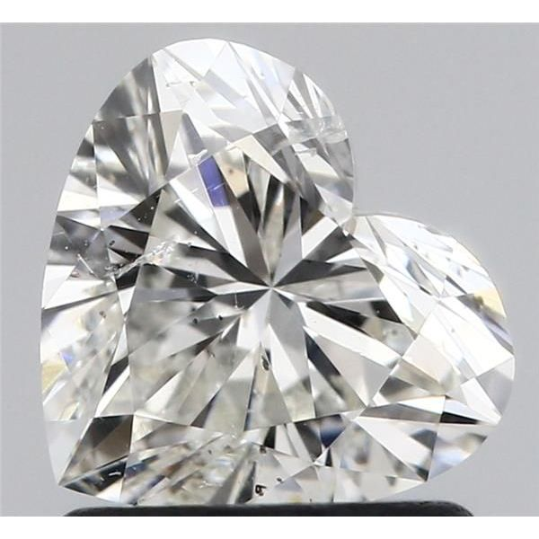 1.05 Carat Heart Loose Diamond, I, SI2, Super Ideal, GIA Certified